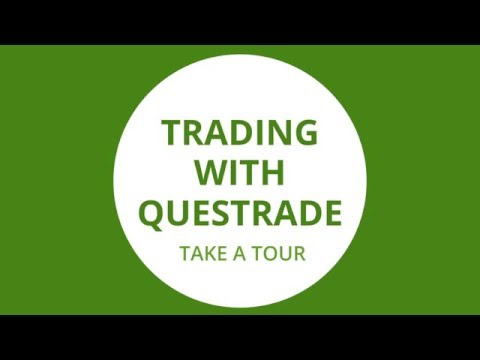 Trading with Questrade: take a tour