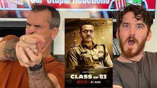 CLASS OF '83 | Bobby Deol | Netflix India REACTION!!