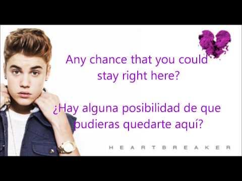 Baixar Justin Bieber- Heartbreaker Oficial letra (Español- Inglés)