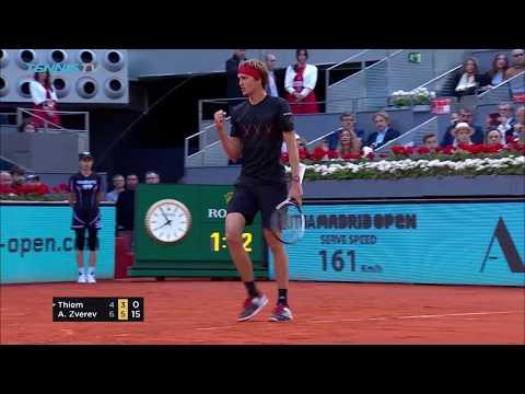 Dominic Thiem vs Alexander Zverev