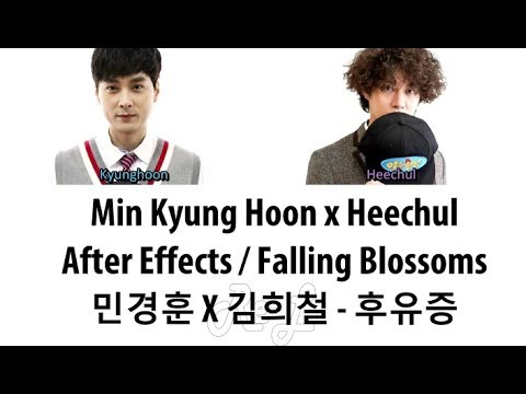 Min Kyunghoon x Kim Heechul - After Effects (Falling Blossoms) (Color Coded Lyrics ENGLISH/ROM/HAN)