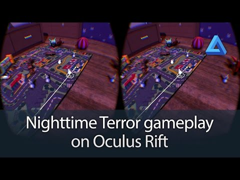 Nighttime Terror full gameplay on Oculus Rift