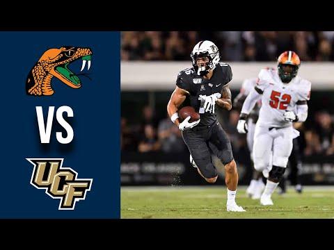 Florida A&M vs #17 UCF Highlights Week 1 College Football 2019