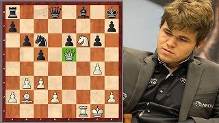 Magnus Carlsen's Most Outrageous Mate vs. Anand