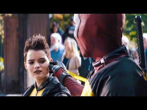 DEADPOOL 2 'X-Men vs. Firefist' Scene / Movie Clip (2018)