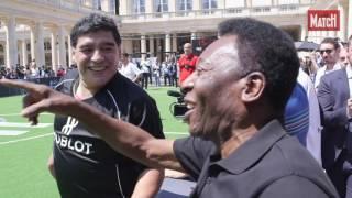 Maradona contre Pelé : duel de légende pour l'Euro 2016