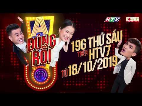 Lâm Vỹ Dạ lần đầu làm MC cùng 2 đội trưởng Dương Lâm, Mạc Văn Khoa   A! ĐÚNG RỒI - Official Trailer
