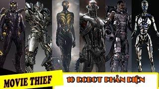 [TỔNG HỢP] 10 Robot Phản Diện Mạnh Nhất Trên Màn Ảnh| Best Robot Villain.