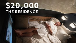 The $20,000 Residence on Etihad A380