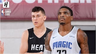 Miami Heat vs Orlando Magic - Full Game Highlights | July 9, 2019 NBA Summer League