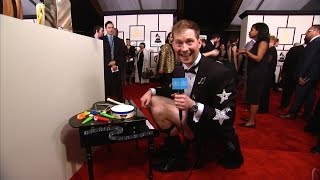 Andy on the Red Carpet at the Grammys!