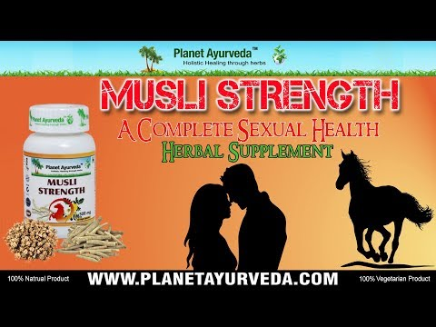 Herbal Supplement to Improve Sexual Health -  Musli Strength Capsules