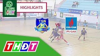Highlights Futsal Truyền hình Đồng Tháp 2018 | Trẻ Thái Sơn Nam vs Khí Cà Mau | THDT