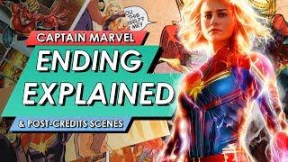 Captain Marvel: Ending Explained + Post Credits Scene Breakdown | FULL MCU MOVIE SPOILER TALK