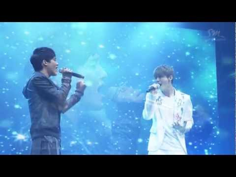 Luhan & Chen - Baby Don't Cry - EXO SHOWCASE in Seoul - HD