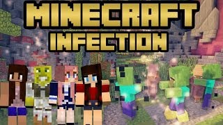 BABY ARMY | MINECRAFT INFECTION #1 | Minecraft Mini-game