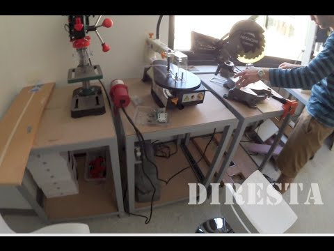 ✔ DiResta Maker Space Tables (OLD VIDEO)