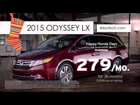 Allan Nott Happy Honda Days Sales Event
