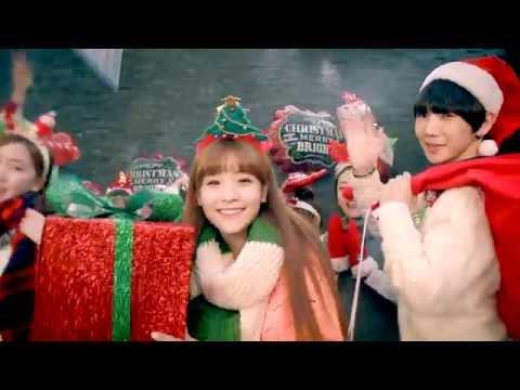 'LOVE CHRISTMAS' OFFICIAL MV(크레용팝,케이머치,단발머리,짠짠)