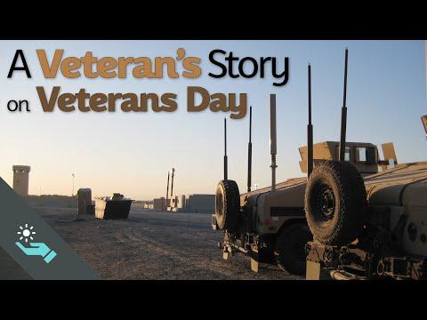 A Veteran's Story on Veterans Day