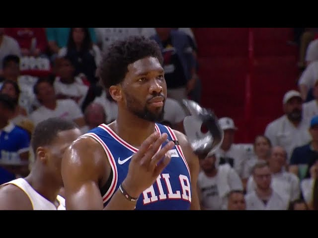 NBA/「鐵面人」再現 恩比德:我是熱火隊的惡夢
