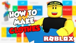 HOW TO MAKE YOUR OWN ROBLOX SHIRT! (EASY)