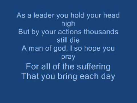 Another Crusade, Anti War Song, 9/11, Iraq, Afghanistan