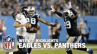 Eagles vs. Panthers | Week 7 Highlights | NFL
