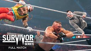 FULL MATCH - Brock Lesnar vs. Rey Mysterio – WWE Title No Holds Barred Match: Survivor Series 2019