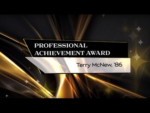 Terry McNew, '86 - 2015 UCF Professional Achievement Award Winner - CBA