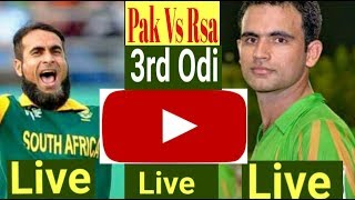 3rd ODi Live Watch Pakistan Vs South Africa ODi Series 2019/Talib Sports
