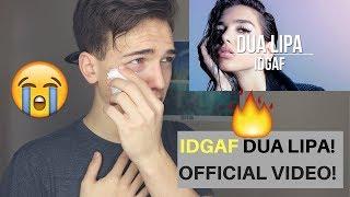 Dua Lipa - IDGAF (Official Music Video) Reaction/Review