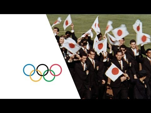 Tokyo 1964 Olympic Games - Olympic Flame & Opening Ceremony