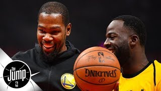 Kevin Durant and Warriors are 'fine behind the scenes' - Marc J. Spears | The Jump