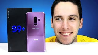 UNBOXING Samsung Galaxy S9 Plus!