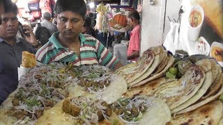 People Mad for Fast Food | 1000 of Kati Rolls Finished in a Day | Kolkata Street Food