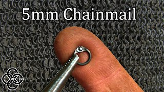 5mm Riveted Chainmail - Armor like an Iron Skin