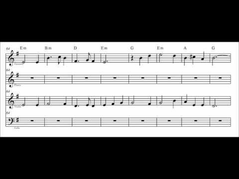 Scarborough Fair (con partitura)