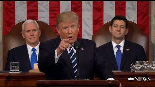 President Trump Full Speech to Congress | ABC News