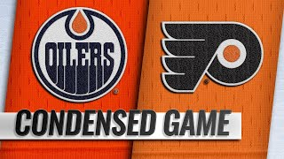02/02/19 Condensed Game: Oilers @ Flyers
