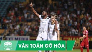 Văn Toàn bật cao đánh đầu phá lưới Tấn Trường, gỡ hòa cho Hoàng Anh Gia Lai  Vòng 10 V-league 2019