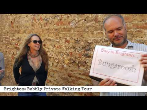 Brighton: Bubbly Private Walking Tour (60 second Product Review)