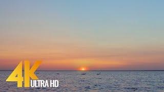 Ukrainian Sunset over the Lake - World's Destinations - 4K Nature Relax Video