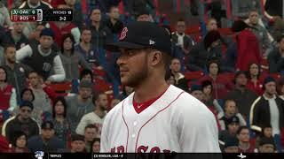 MLB The Show 18 (Boston Red Sox Season Mode) Game #43 - OAK @ BOS