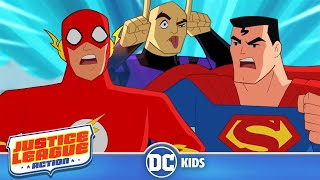 Justice League Action | Lex Luthor Stops Time | @DC Kids