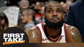 First Take debates why LeBron James won't make long term commitment to Cavaliers | First Take | ESPN