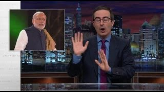 Last Week Tonight With John Oliver - Narendra Modi in UK (kOHINOOR)