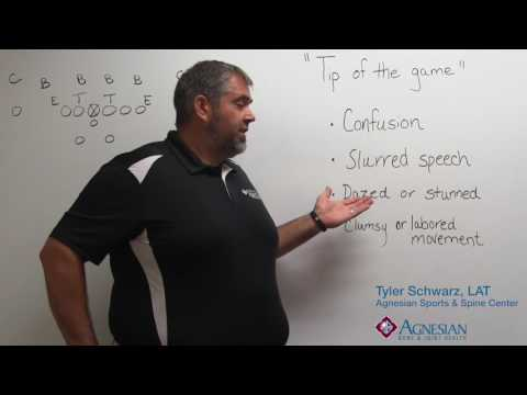 Agnesian Bone & Joint Health Tip of the Game: Concussion symptoms