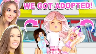 We Went UNDERCOVER As KIDS To Get ADOPTED In Brookhaven! (Roblox)