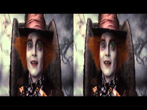 Alice in Wonderland 3D Trailer [1080p]